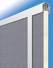 Füllung stucco/stucco 40 mm für Baureihe