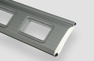 Industrierolltor-Profil 95R mit Fenster