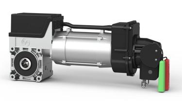 Antrieb mit Frequenzumrichter SE 6.65 SK (beispielhaft)