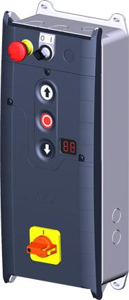 TS 971 Torsteuerung Bestückung Variante B mit Schalter (beispielhaft)
